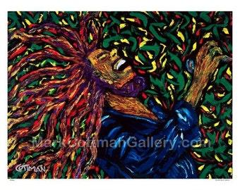 Marley -  (print) 28 x 22