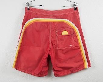 Vintage 1980s Sundek Baggies - Board Shorts - Vintage Surf Apparel