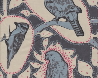 Free Spirit Fabrics Anna Maria Horner Sweet Dreams Cacophony in Charcoal - Half Yard