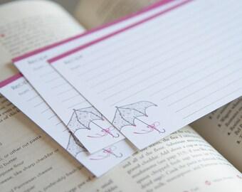 Pink Parasol Recipe Cards