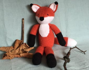Knitted Toy - Fox