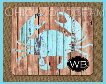 Gifts for Mom Rustic Cottage Look Housewarming Gift Trivet Hardboard Monogrammed Personalized Kitchen Hot Pad Table Protector Mothers Day