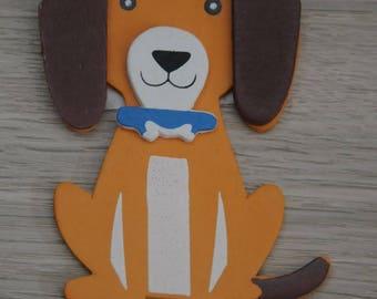 "Flat pattern wood ""Doggie"""