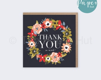 Greetings Card   Thank You