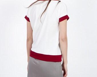 Gray summer skirt, grey skirt, pencil skirt, A line skirt, gray cotton skirt, knee length skirt, high waisted skirt