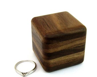 Storage box Wood ring box Wedding ring box Jewelry box Unique ring box Engagement ring box Personalized Rustic wooden ring holder Jewelry