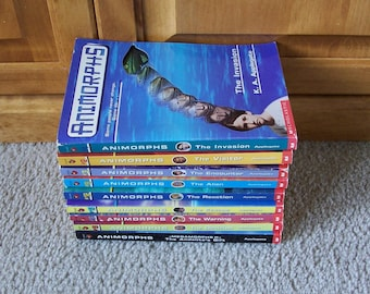 Animorphs Children's Books, K A Applegate - You Choose Which Ones