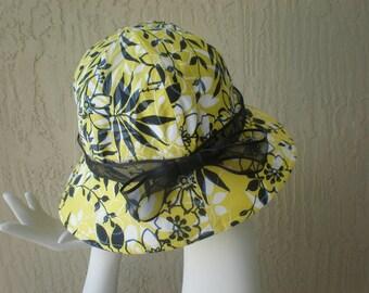 Spring/Summer Flower Hat