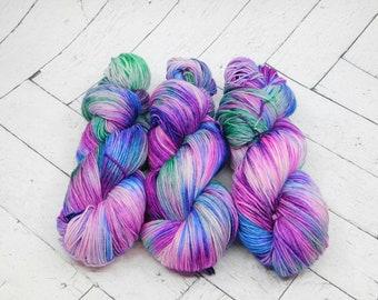 Rainier Nights- Hand-dyed Superwash Sock Yarn