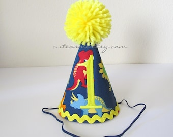 Dinosaur TREX Birthday Hat First Birthday Outfit Boy or Girl Smash Cake Outfit Cake Smash Outfit Birthday TREX Reptile Photoshoot Photoprop