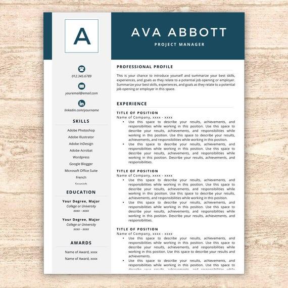 monogram resume