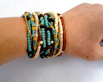 Blue Mix Bracelet