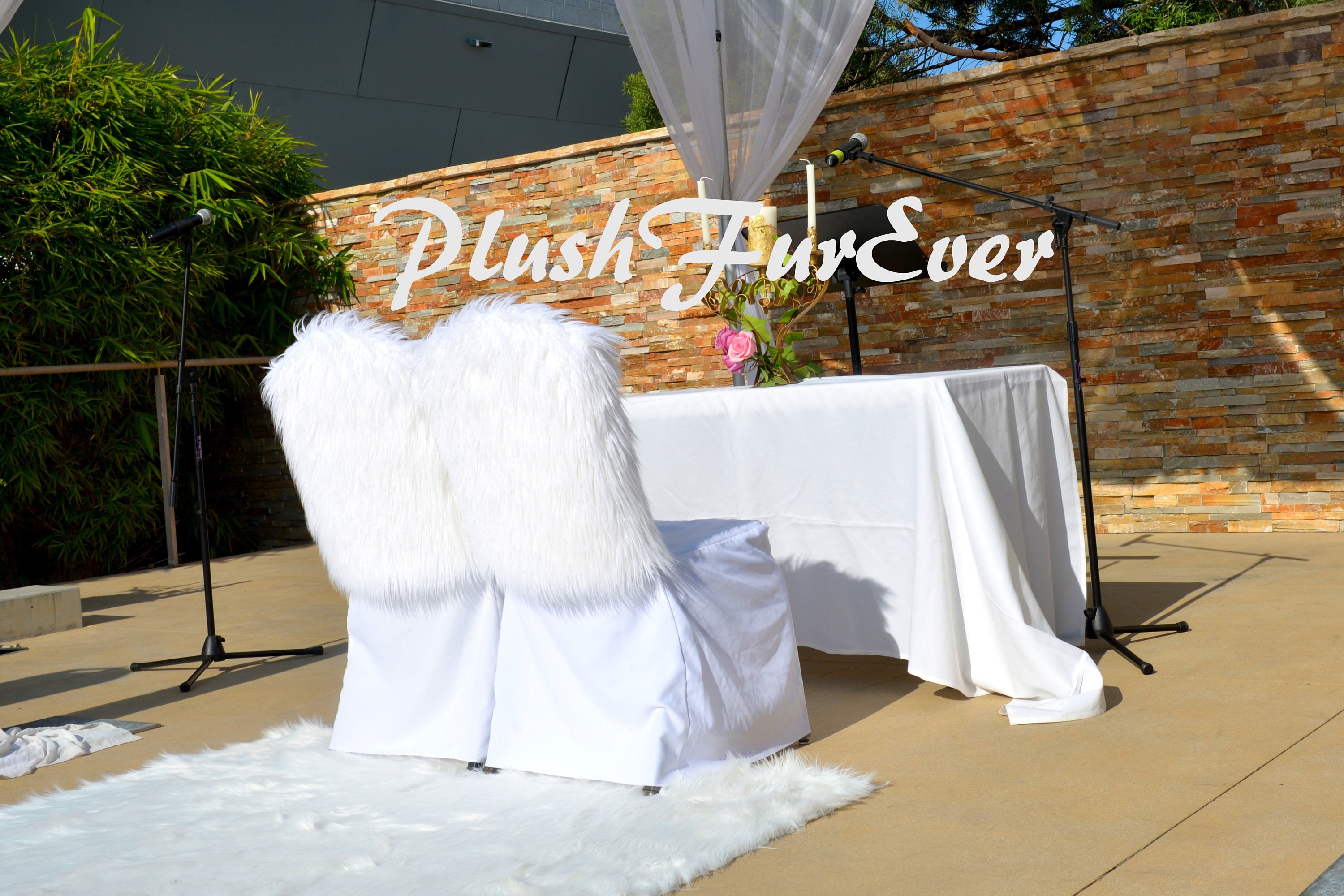 WEDDING CHAIR COVER e Pair Groom and Bride Chairs Seats Covers