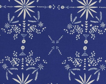 Paper Bandana RAYON Sky (4024-25) Half Yard - Cotton Lawn by Alexia Marcelle Abegg for Cotton + Steel