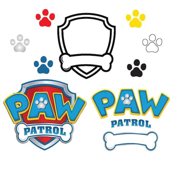 paw patrol svg paw patrol logo clipart svg eps dxf