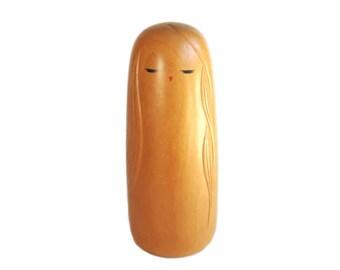 RARE Sosaku Kokeshi Doll by AWARD WINNING Artist Ryozo Tsujita. Vintage Kokeshi Doll. Kindai Kokeshi. Japanese Kokeshi Doll. Wood Doll.