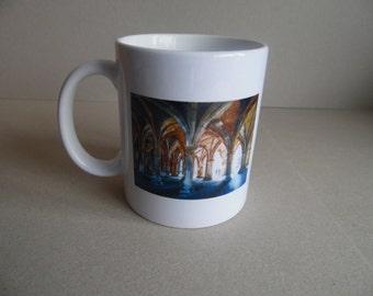 Glasgow University Cloisters Original Mug Scotland Unique Scottish Gift