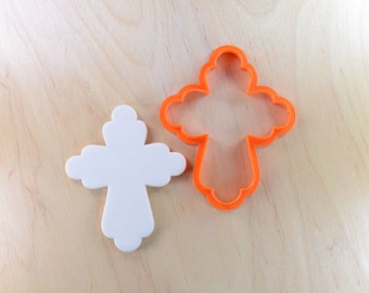 Lily Cross Cookie Cutter