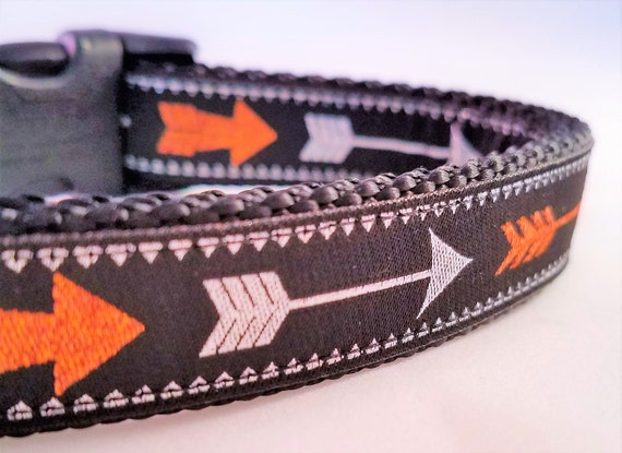 Arrows - Dog Collar / Handmade / Adjustable / Pet Accessories / Pet Lover / Boho / Gift Idea / Dog Collar