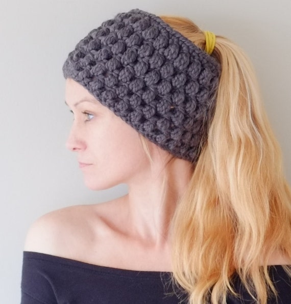 Items similar to Ear Warmer PATTERN / Crochet Chunky Headband ...