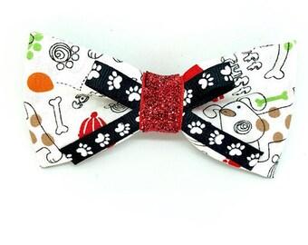 Fancy Pup Dog Bow Tie