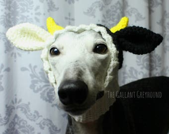 Cow Snood for Greyhounds