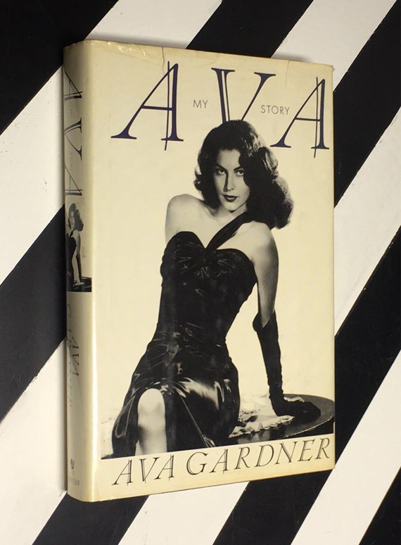 Ava: My Story by Ava Gardner (1990) hardcover book
