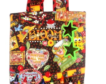 Handmade Kids Crayon Tote Gifts Toys