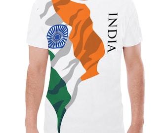 India Men's Classic Flag Tee 2.0