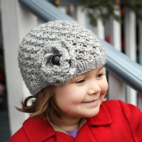 Pdf Knitting Pattern Girls Hat Pattern Hat Pattern For Girl