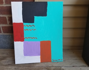 Color block art