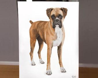"Custom 11x14"" Watercolor Pet Portrait"