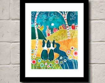 Furever Friends - Fine Art Print - Swipe Right To See Samples