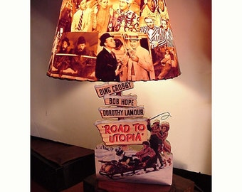 ROAD PICTURES custom LAMP and Lamp Shade