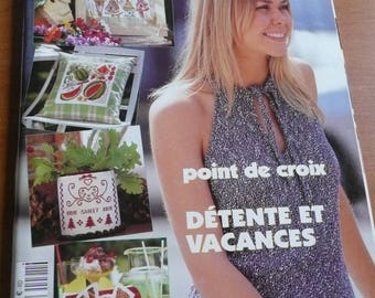 magazine the ideas of Marianne - diy magazine, crosstitching, crochet and knitting tops for womens