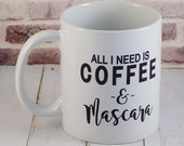 coffee and mascara, coffe...