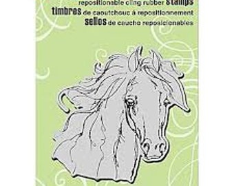 Horse Stamp, Stampendous, Filly Sketch, Rubber Stamp, Card Making, Paper Craft, Horse