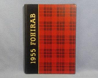 1955 Fostoria High School Yearbook FOHIRAB , Fostoria, Ohio