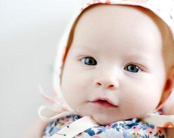 CLASSIC BABY BONNET pdf pattern