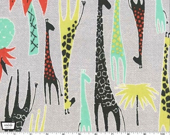 Giraffes - Coral from Michael Miller