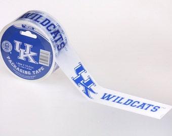 On Sale NCAA Tape: University of Kentucky Wildcats, 54 yards,  UK Tape, Wildcats Tape, UK Wildcats, Kentucky Tape, Packaging Tape,Graduation