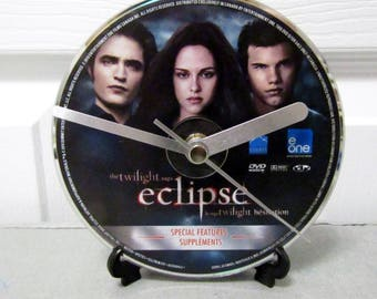 Twilight Eclipse DVD Clock DIY Vampire Movie Decor (Disc 2)