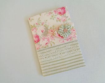Book and notebook shabby style