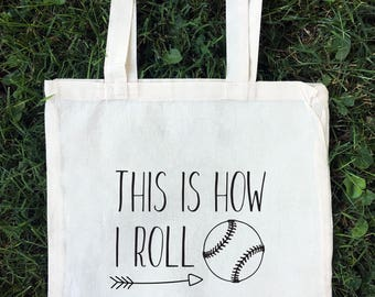 Baseball Tote Bag, Baseball Mom Bag, Baseball Mom Tote, Baseball Bag, Softball Tote, Softball Bag, Softball Tote Bag, Farmer's Market Tote