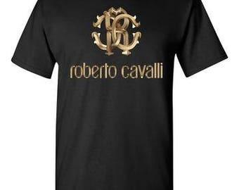 Roberto Cavalli Black T-Shirt