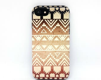 Tribal iPhone 7 case, iPhone 5s case, iPhone 7 Plus case, iPhone 8 case, iPhone 6 case, iPhone 6s case, iPhone 7 tough case - Ombre