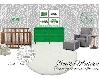 Nursery Design  l  Nursery E-Design  l  Virtual Nursery Design