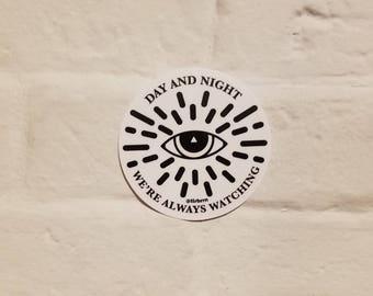 Secret Society Vinyl Sticker