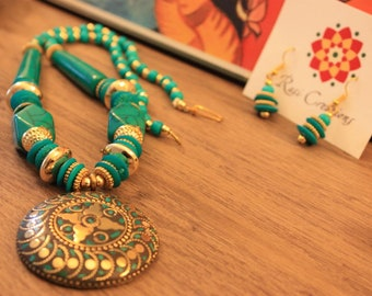 Mother's day Gift, Tibetan Necklace, Indian Jewelry, Ethnic Jewelry,