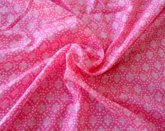 Soft Mul Mul Cotton Fabric, Printed Fabric, Indian Fabric, Voile Cotton, Fabric Sold By Yard, Fabric for Beachwear, Sarongs, Dress Fabric